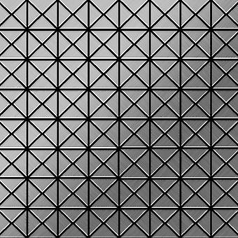 Metal mosaic Stainless Steel ALLOY Deco-S-S-B