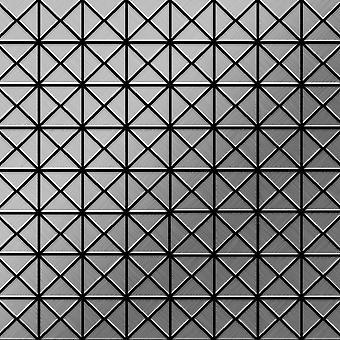 Mosaico de metal sólido Acero inoxidable ALLOY Deco-S-S-B