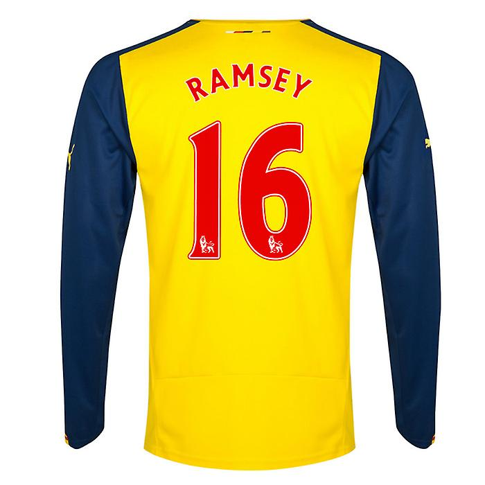 2014-15 weg arsenal lange mouw Shirt (Ramsey 16)