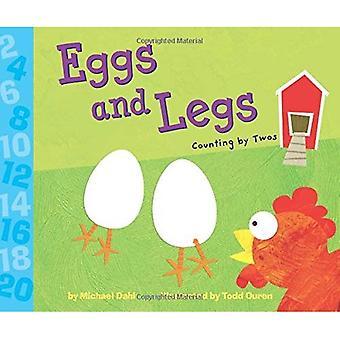 Eier und Beine: zählen von zweien