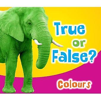 Verdadeiro ou falso? Cores