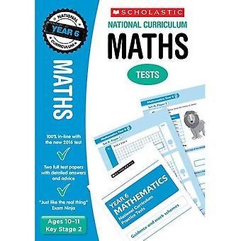 Mathe-Klausur - Jahr 6 (National Curriculum Tests)