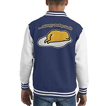 Gudetama energiebesparende modus Kid's Varsity Jacket