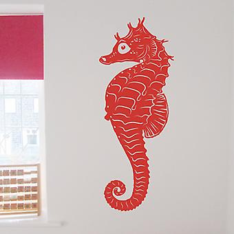 Seahorse wall art sticker decal
