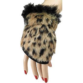 Leopard-Handschuhe