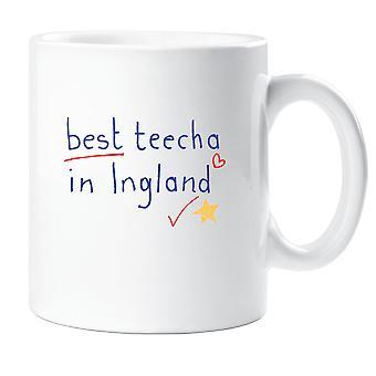 Bästa Teecha i England mugg