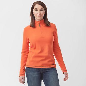 New Peter Storm Women's Grasmere Half-Zip Fleece Orange