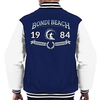 Bondi Beach 1984 Middle School Men's Varsity Jacket