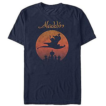 Aladdin Magic Carpet bleu marine tee shirt