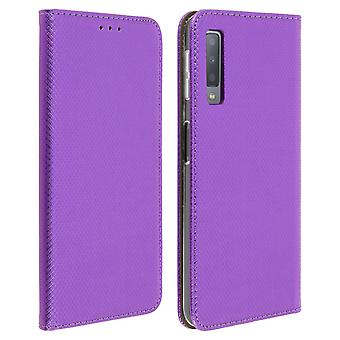 Samsung Galaxy A7 2018 Protection Case Stand Function - Purple