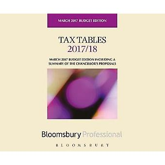 Tax Tables 2017/18 - 9781526500649 Book