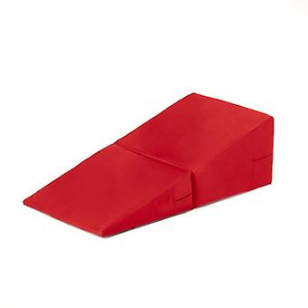 Fun!ture� Red Faux Leather Folding Incline Gymnastics Wedge