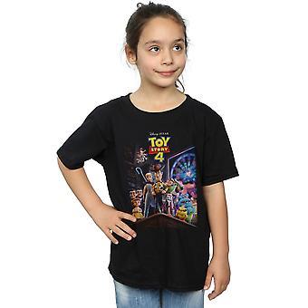 Disney Girls Toy Story 4 Crew Poster T-Shirt