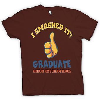 Kids T-shirt - I Smashed It - Funny Football
