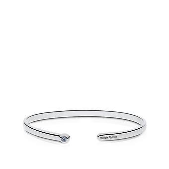 Washington Nationals - Nationals Engraved White Sapphire Cuff Bracelet