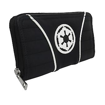 Star Wars Imperial Crest Femmes-apos;s Zipper Portefeuille