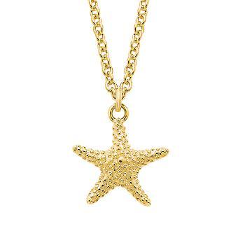 s.Oliver Jewel Damen Kette Halskette Silber gold Seestern 2026123