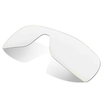 Replacement Lenses Compatible with OAKLEY Batwolf Non-Polarized Clear