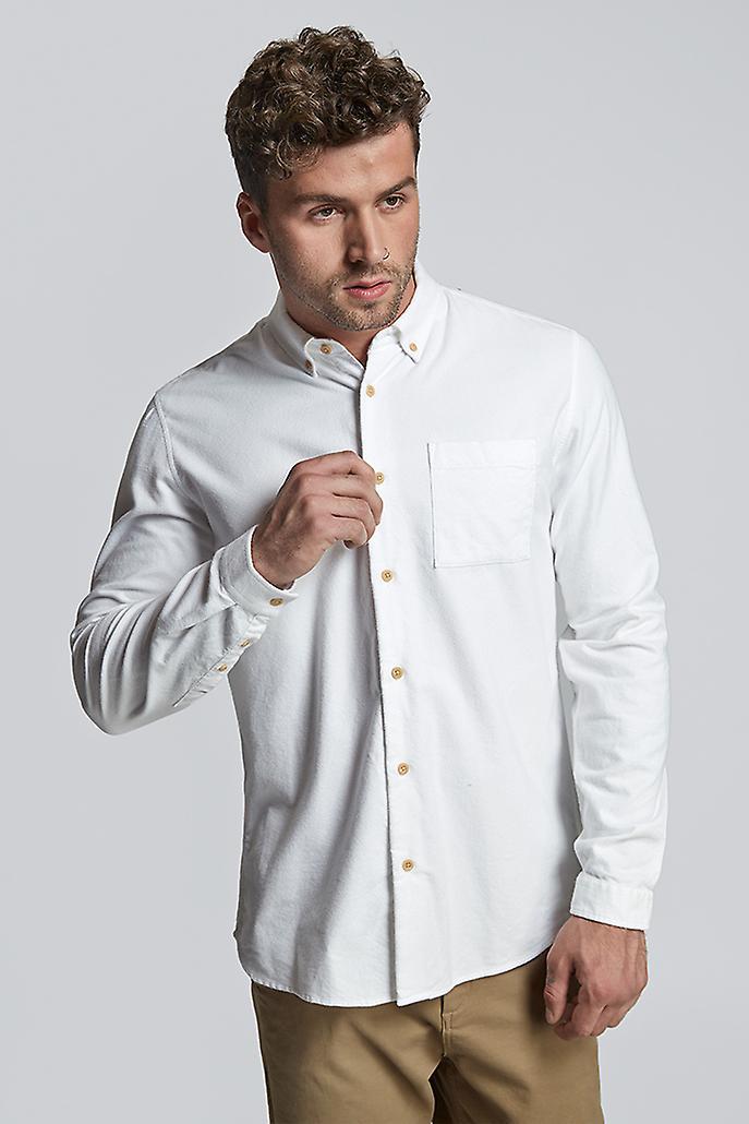 Hymn Simmonds Brushed Cotton Shirt White