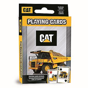 CAT (Caterpillar) set of 52 playing cards + jokers  (mpc)