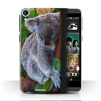 STUFF4 Case/Cover voor HTC Desire 820q Dual/Koala Beer/Wildlife dieren