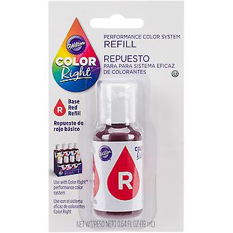 Color Right Food Color System Refill .7oz-Red #2 CR610-949