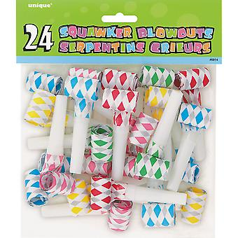 Diamond Squawker Blowouts 24 Pkg 6914