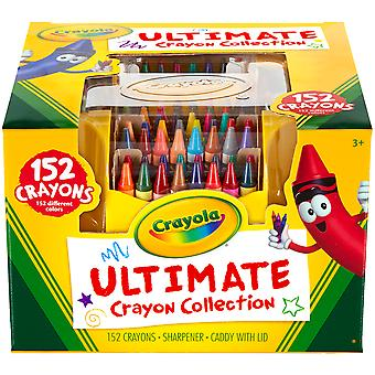 Crayola Ultimate Crayon collectie met puntenslijper en Caddy 152Pc 52 0030