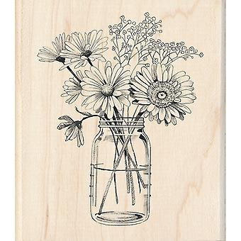 Inkadinkado Mounted Rubber Stamp 3.5