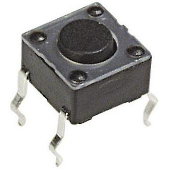 Pushbutton 12 Vdc 0.05 A 1 x Off/(On) APEM PHAP330