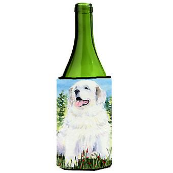 Great Pyrenees Wine Bottle Beverage Insulator Beverage Insulator Hugger SS8866LITERK