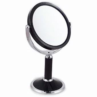 Famego x7 magnification black and chrome mirror