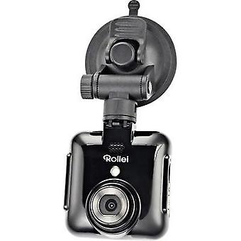 Dashcam Rollei DVR-71 Horizontal viewing angle=120 ° 12 V Battery, Display, Microphone