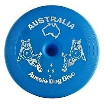 Aussie Dog Disc Blue Floating
