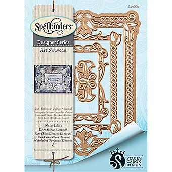 Spellbinders Nestabilities Decorative Elements Dies-Waterlilies Elements S4660