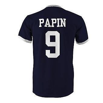Jean-Pierre Papin 9 France Country Ringer T-Shirt