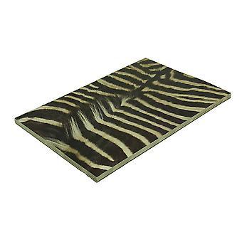 24 Stück Animal Print Tear-Off Einweg-Heavy-Duty Papierblock Tischset