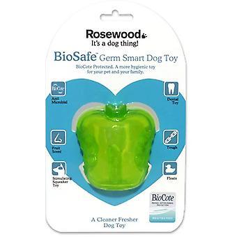 BioSafe groddar Smart Apple leksak 10cm (förpackning med 3)