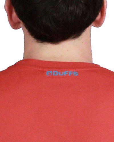 Duffs boys t-shirt - Bubble red