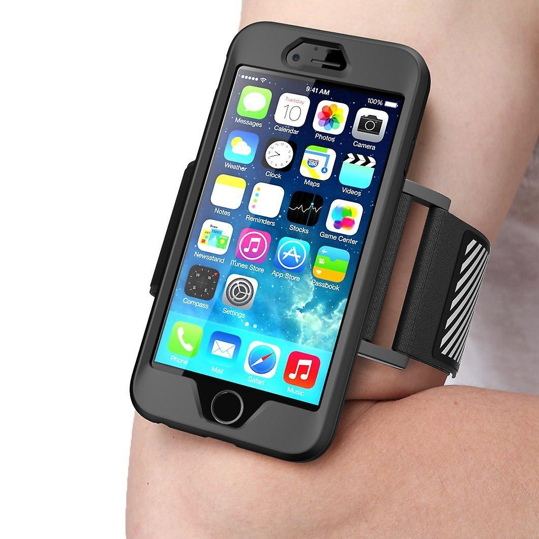 iPhone 6S Armband, Supcase, Apple Iphone 6 Armband 4.7 Inch Sport Running Armband with Premium Flexible-Black