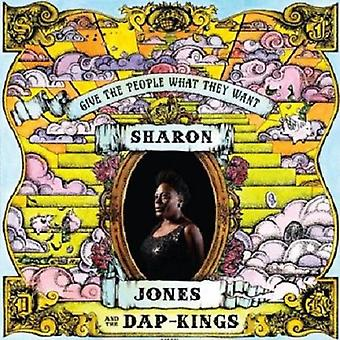 Sharon Jones & Dap-Kings - Give folk hvad de ønsker [CD] USA importen