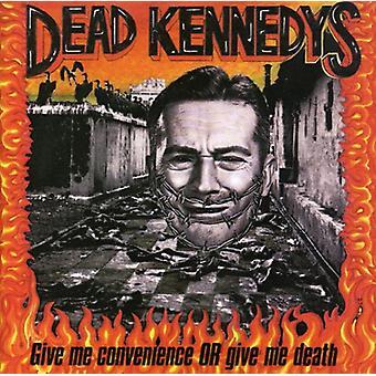 Dead Kennedys - Give mig bekvemmelighed eller Giv mig døden [CD] USA importerer