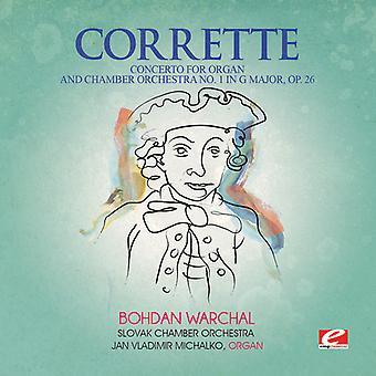 Michel Corrette - konsert för orgel & Chamber Orch 1 i G-dur [CD] USA import