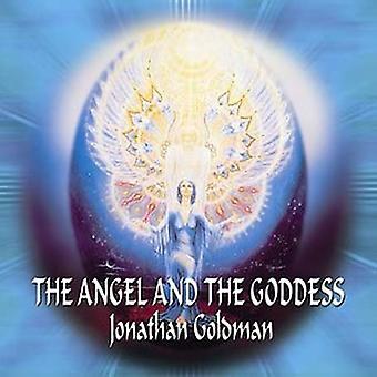Jonathan Goldman - Angel & gudinde [CD] USA Importer