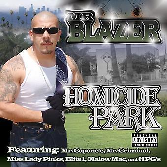 Mr. Blazer - drab Park [CD] USA import