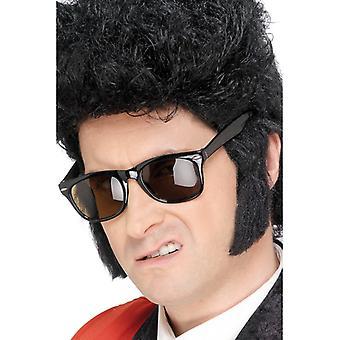 Basette Koteleten barba Carnevale di basette nere