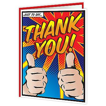 Brainbox Candy Comic Thank You Card