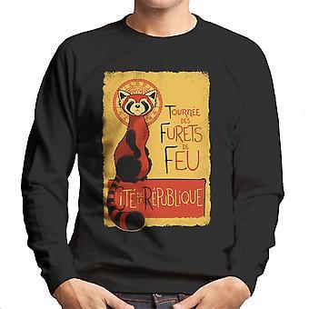 Les Furets de Feu Legend Of Korra Men's Sweatshirt