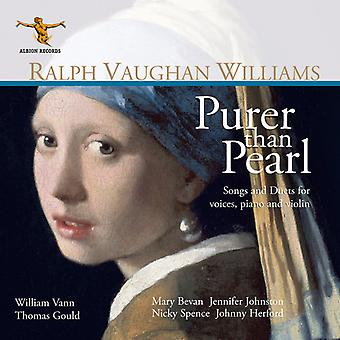 Williams / Vann / Bevan - renere end Pearl [CD] USA import
