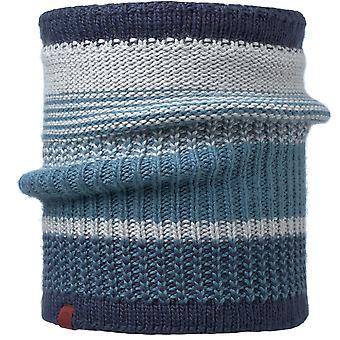 Buff Borae Knitted Neckwarmer - Mazarine Blue